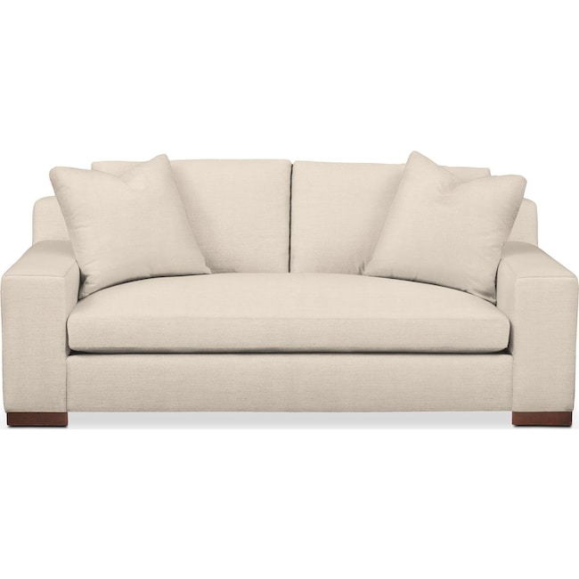 Living Room Furniture - Ethan Apartment Sofa- Comfort in Curious Pearl