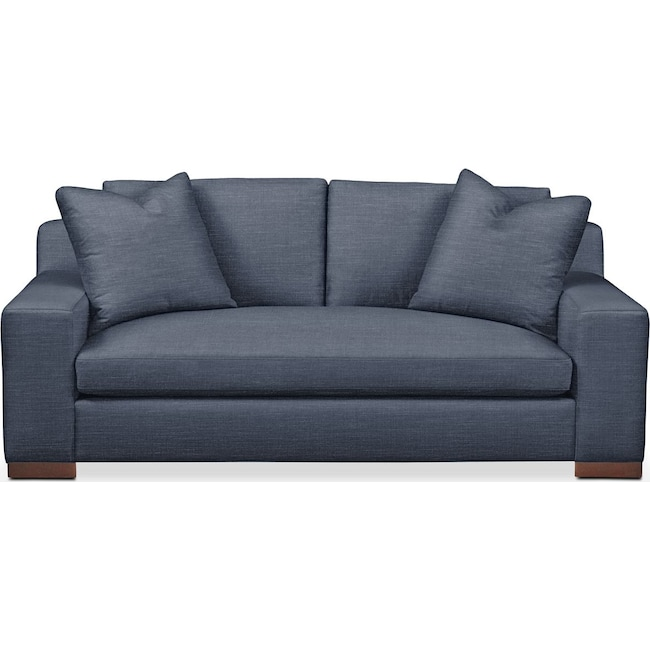 Living Room Furniture - Ethan Apartment Sofa- Comfort in Curious Eclipse
