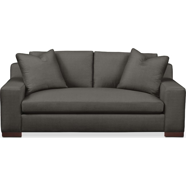 Living Room Furniture - Ethan Apartment Sofa- Comfort in Statley L Sterling