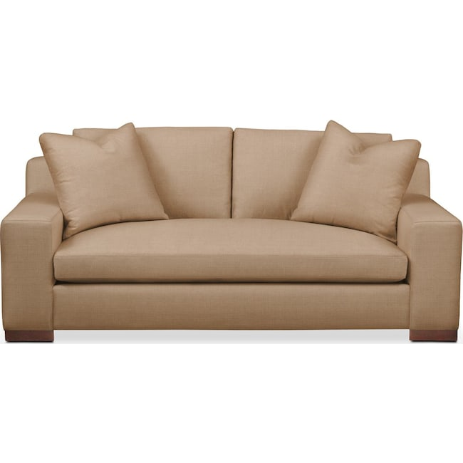 Living Room Furniture - Ethan Apartment Sofa- Comfort in Hugo Camel