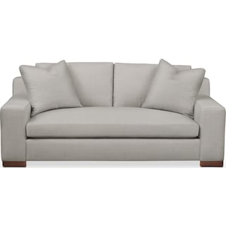 Ethan Apartment Sofa- Comfort in Dudley Gray