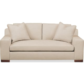 Ethan Apartment Sofa- Comfort in Dudley Buff