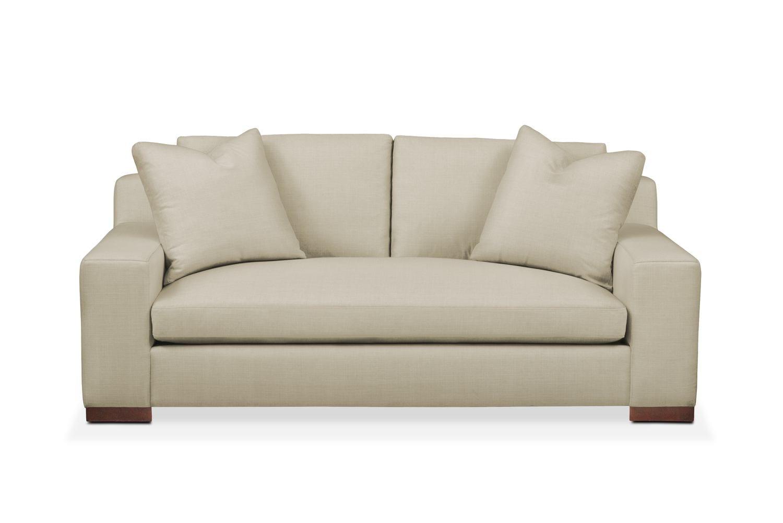 Ethan apartment sofa comfort in abington tw barley for Comfort living furniture