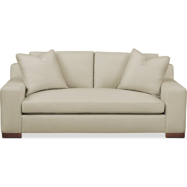 Living Room Furniture - Ethan Apartment Sofa- Comfort in Abington TW Barley