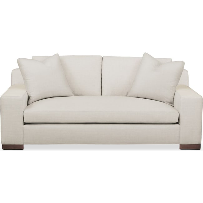Living Room Furniture - Ethan Apartment Sofa- Comfort in Anders Ivory