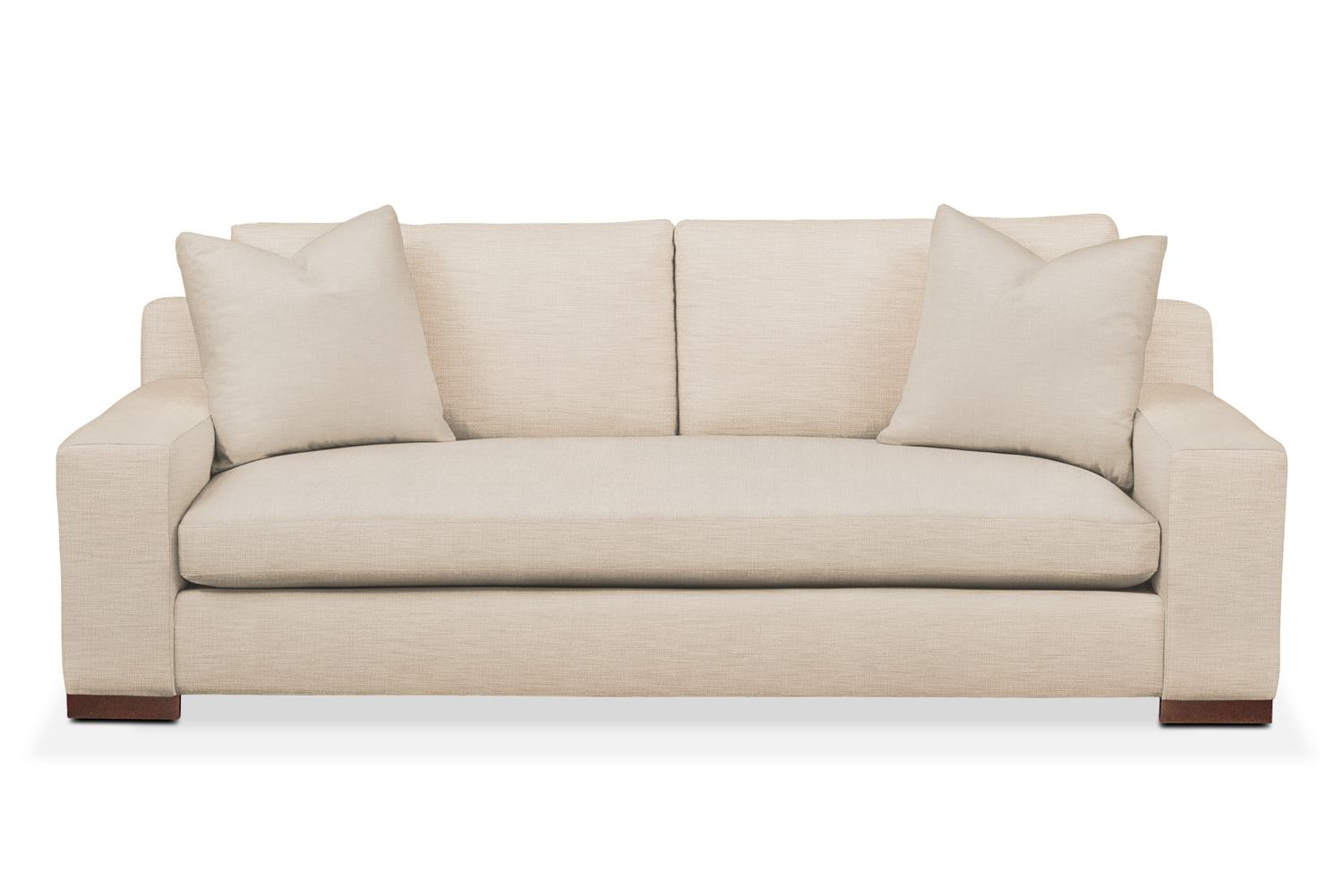 Ethan sofa comfort in victory ivory american signature for Comfort living furniture