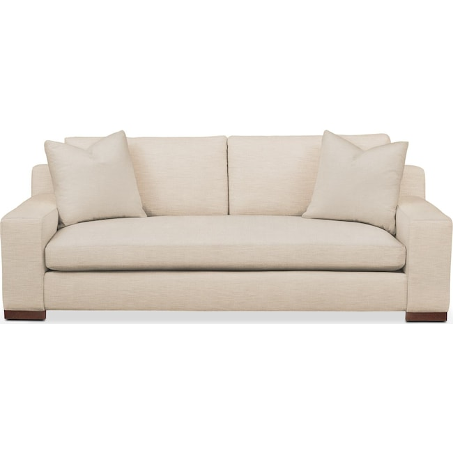 Living Room Furniture - Ethan Sofa- Comfort in Victory Ivory