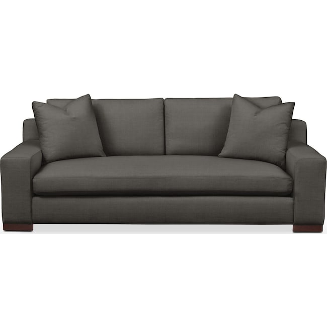 Living Room Furniture - Ethan Sofa- Comfort in Statley L Sterling