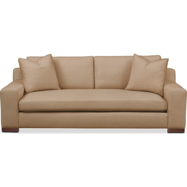 Living Room Furniture - Ethan Sofa- Comfort in Hugo Camel