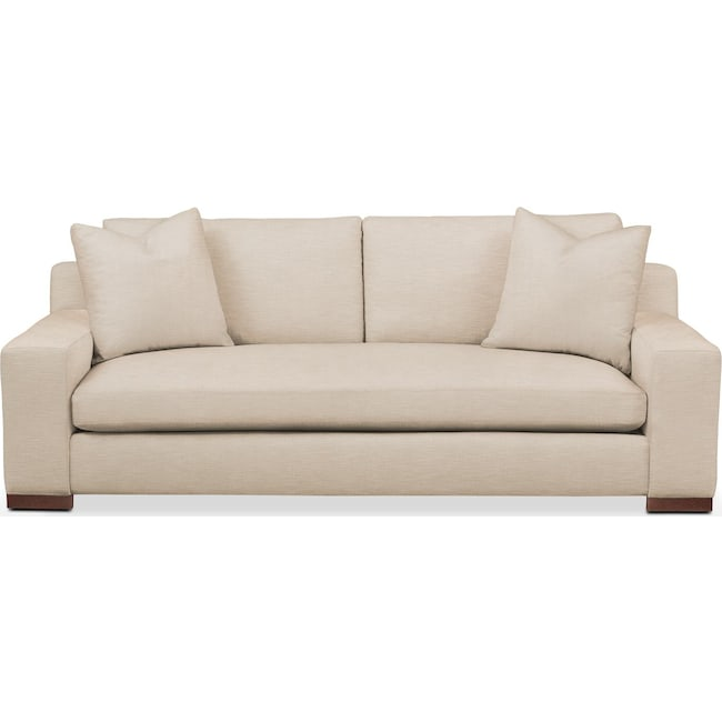 Living Room Furniture - Ethan Sofa- Comfort in Dudley Buff