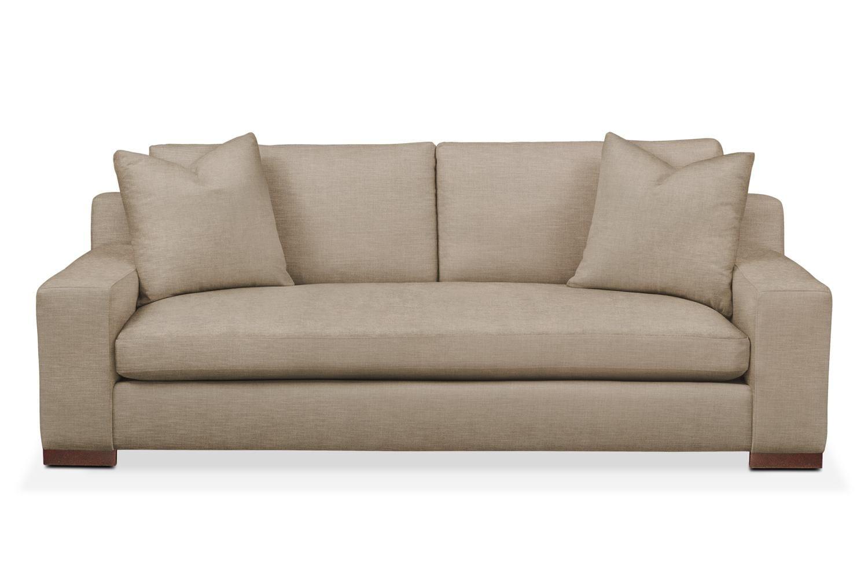 Genial Living Room Furniture   Ethan Sofa  Comfort In Dudley Burlap