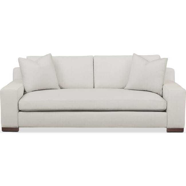 Living Room Furniture - Ethan Sofa- Comfort in Anders Ivory