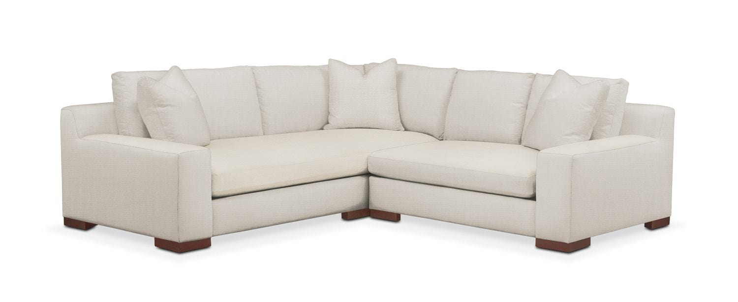 Living Room Furniture - Ethan 2-Piece Small Sectional