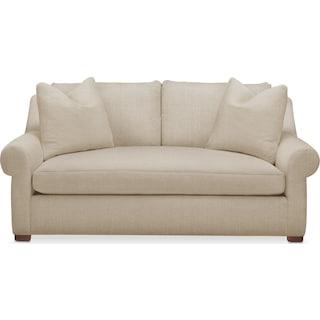 Asher Apartment Sofa- Comfort in Depalma Taupe