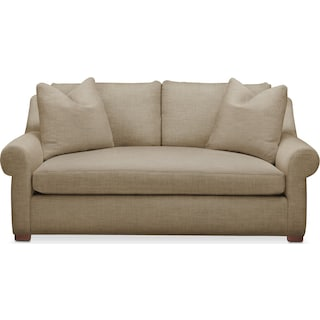 Asher Apartment Sofa- Comfort in Milford II Toast