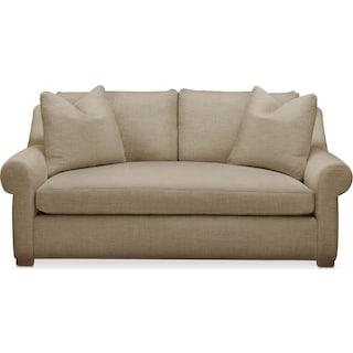 Asher Apartment Sofa- Comfort in Milford II Toast
