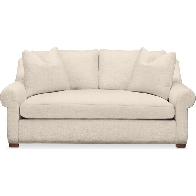 Living Room Furniture - Asher Apartment Sofa- Comfort in Curious Pearl