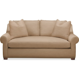 Asher Apartment Sofa- Comfort in Hugo Camel
