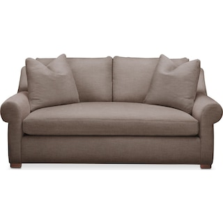 Asher Apartment Sofa- Comfort in Hugo Mocha