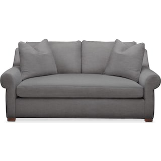 Asher Apartment Sofa- Comfort in Hugo Graphite