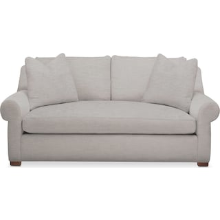Asher Apartment Sofa- Comfort in Dudley Gray