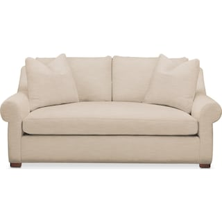 Asher Apartment Sofa- Comfort in Dudley Buff