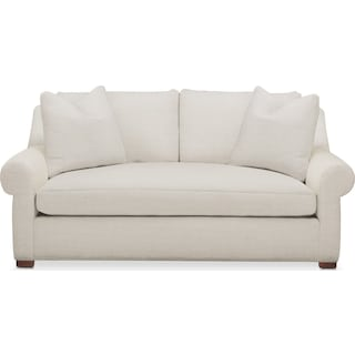 Asher Apartment Sofa- Comfort in Anders Ivory