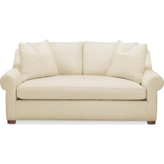 Asher Apartment Sofa- Comfort in Anders Cloud