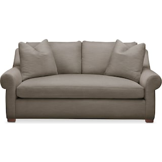 Asher Apartment Sofa- Cumulus in Oakley III Granite