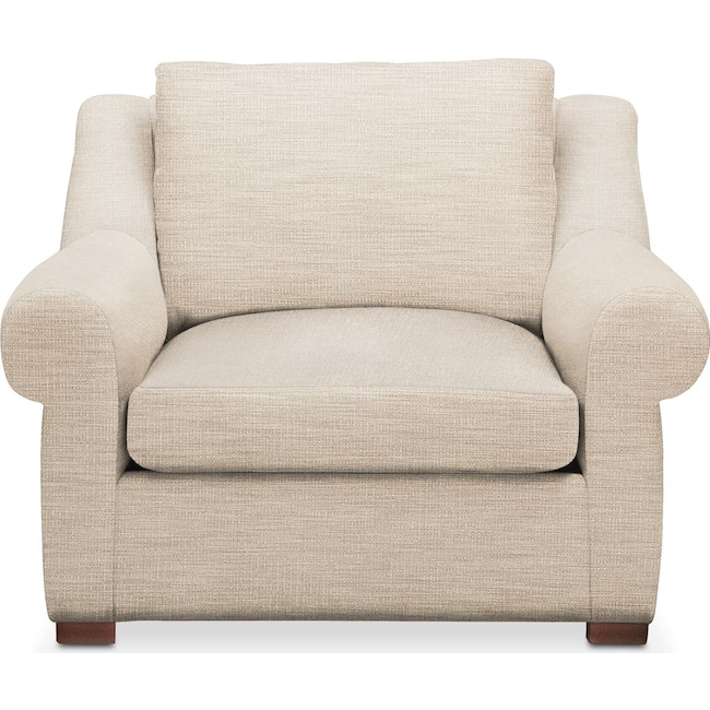 Living Room Furniture - Asher Chair- Comfort in Victory Ivory