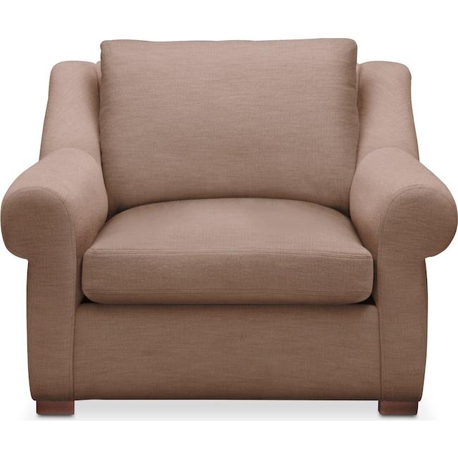 Living Room Furniture - Asher Chair- Comfort in Abington TW Antler