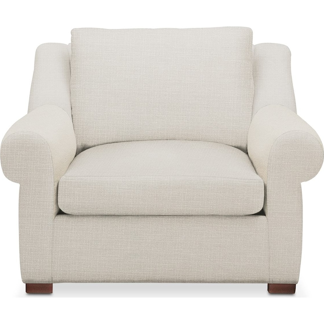 Living Room Furniture - Asher Chair- Comfort in Anders Ivory