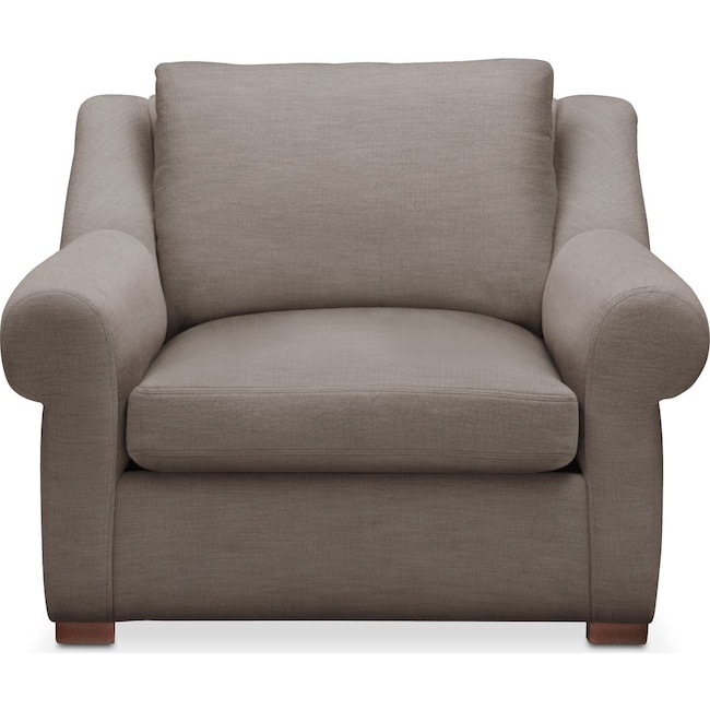 Living Room Furniture - Asher Chair- Cumulus in Oakley III Granite