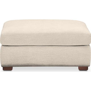 Asher Ottoman- Comfort in Curious Pearl