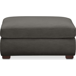 Asher Ottoman- Comfort in Statley L Sterling