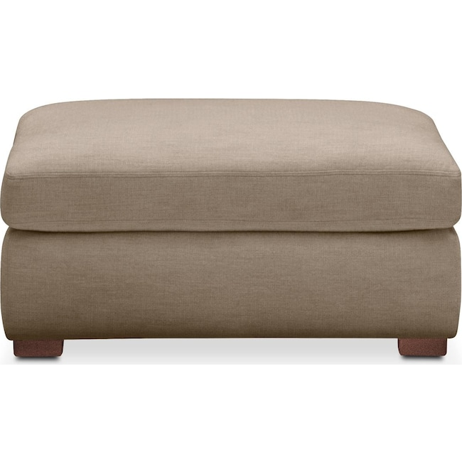 Living Room Furniture - Asher Ottoman- Comfort in Statley L Mondo