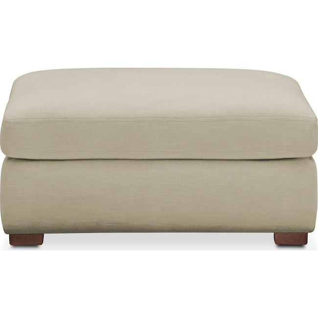 Living Room Furniture - Asher Ottoman- Comfort in Abington TW Barley