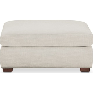 Asher Ottoman- Comfort in Anders Ivory