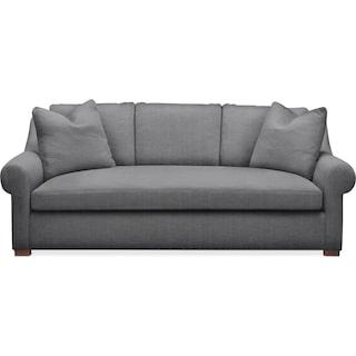Asher Sofa- Comfort in Depalma Charcoal