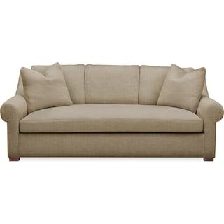 Asher Sofa- Comfort in Milford II Toast
