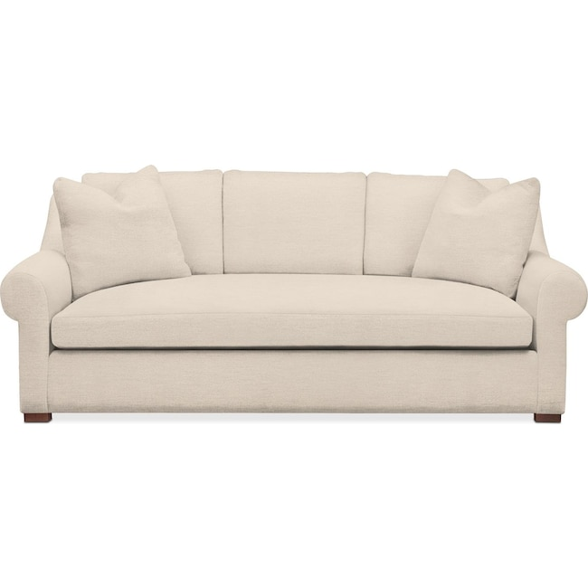 Living Room Furniture - Asher Sofa- Comfort in Curious Pearl