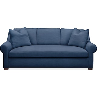 Asher Sofa- Comfort in Hugo Indigo