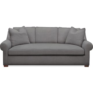 Asher Sofa- Comfort in Hugo Graphite
