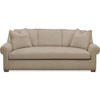 Asher Sofa- Comfort in Dudley Burlap