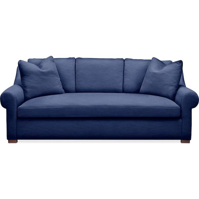 Living Room Furniture - Asher Sofa- Comfort in Abington TW Indigo