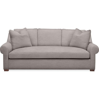 Asher Sofa- Cumulus in Curious Silver Rine