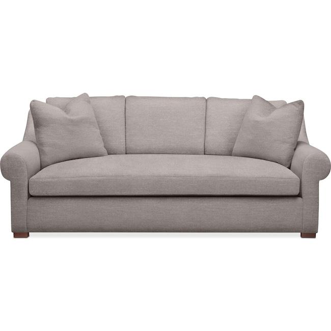 Living Room Furniture - Asher Sofa- Cumulus in Curious Silver Rine