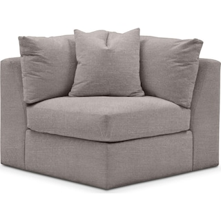 Collin Comfort Corner Chair - Curious Silver Pine