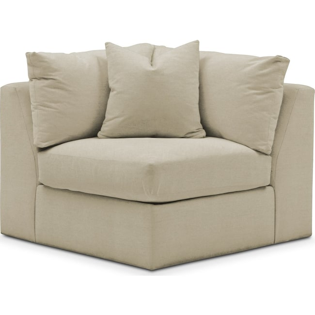Living Room Furniture - Collin Corner Chair- Comfort in Abington TW Barley