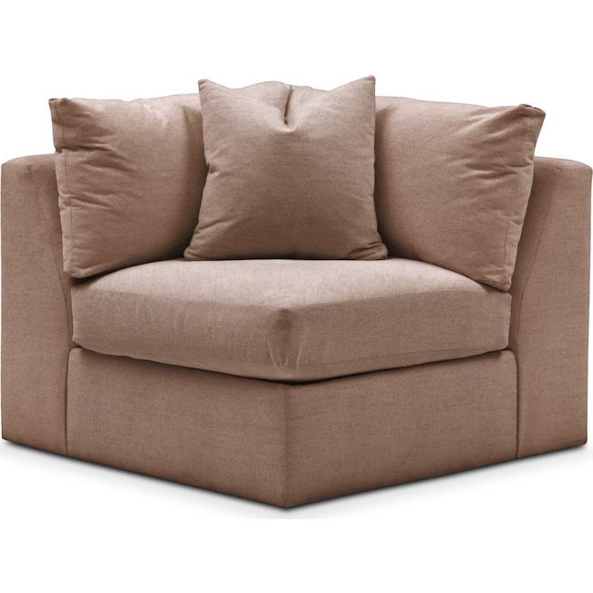 Living Room Furniture - Collin Corner Chair- Comfort in Abington TW Antler